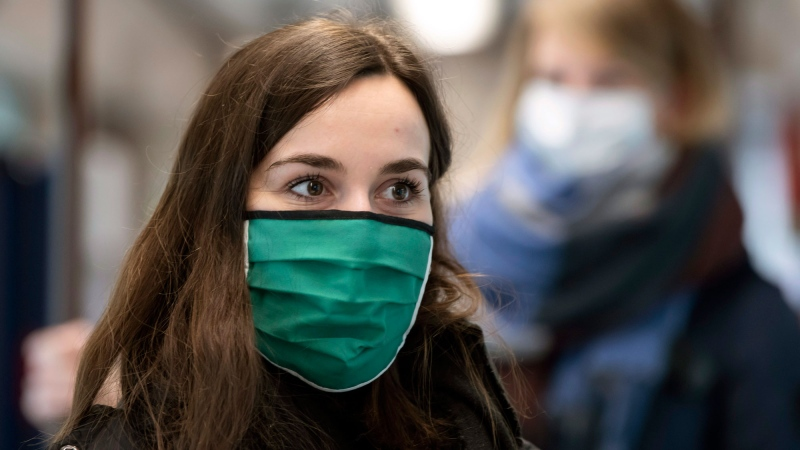 P.E.I. health officials are strongly urging people to wear non-medical face masks indoors but so far aren't recommending they be mandatory.