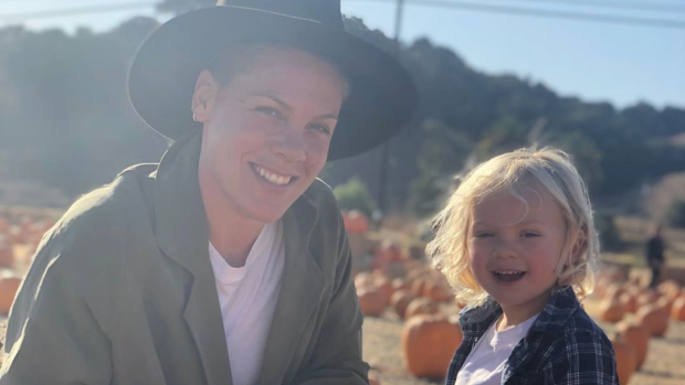 U.S. singer Pink and her three-year-old son, Jameson, were tested for COVID-19. The singer said she tested positive. (Instagram/Pink)
