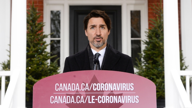 Watch Prime Minister Justin Trudeau's daily update to Canadians on the COVID-19 pandemic.