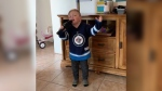Four-year-old Ryan Palsson convinced his mom to record a video of him singing both the Canadian National Anthem and the Star Spangled Banner. (Source: Angie Palsson/ Facebook)