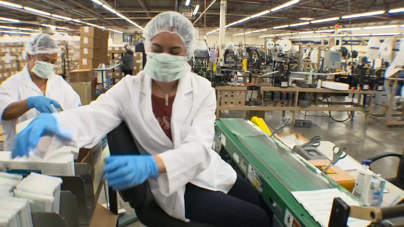 Masks production