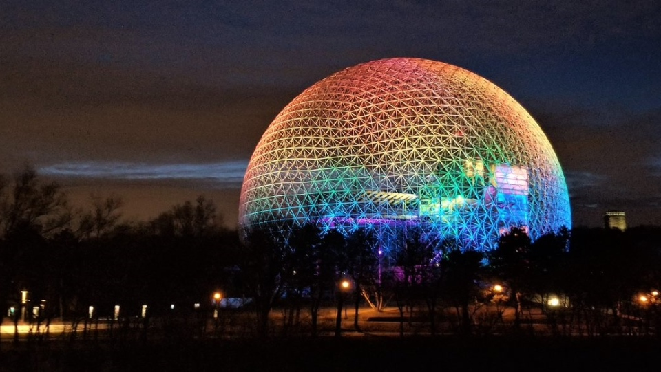 Montreal Biosphere to shine like a rainbow