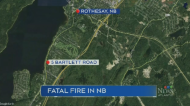 One person has died and three were taken to the hospital, after fire broke out at a Rothesay, N.B. home early Sunday morning.