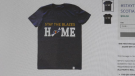 Nova Scotia premier Stephen McNeil's unique way of telling people to stay home has been immortalized on a t-shirt.
