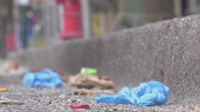 Mayor calls out PPE littering