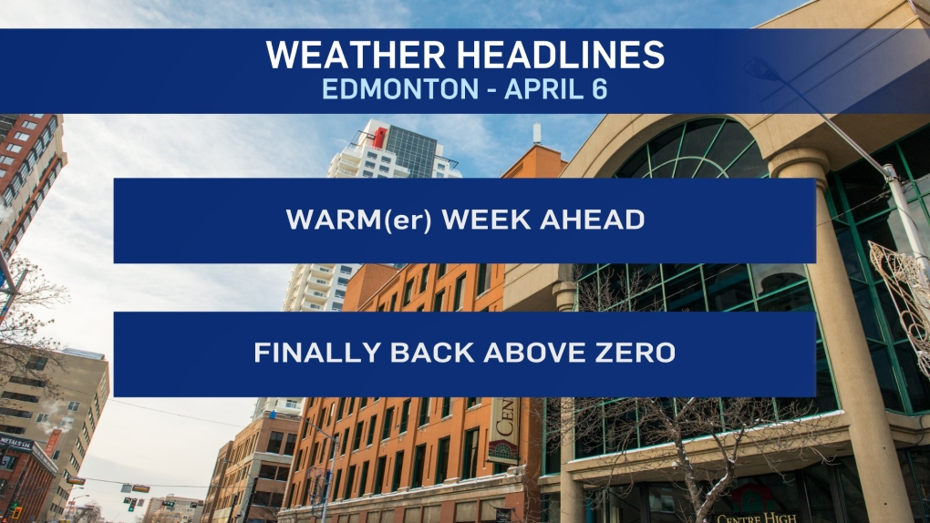 April 6 weather headlines