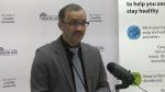 Windsor-Essex medical officer of health Dr. Wajid Ahmed in Windsor, Ont., on Monday, April 6, 2020. (Bob Bellacicco / CTV Windsor)