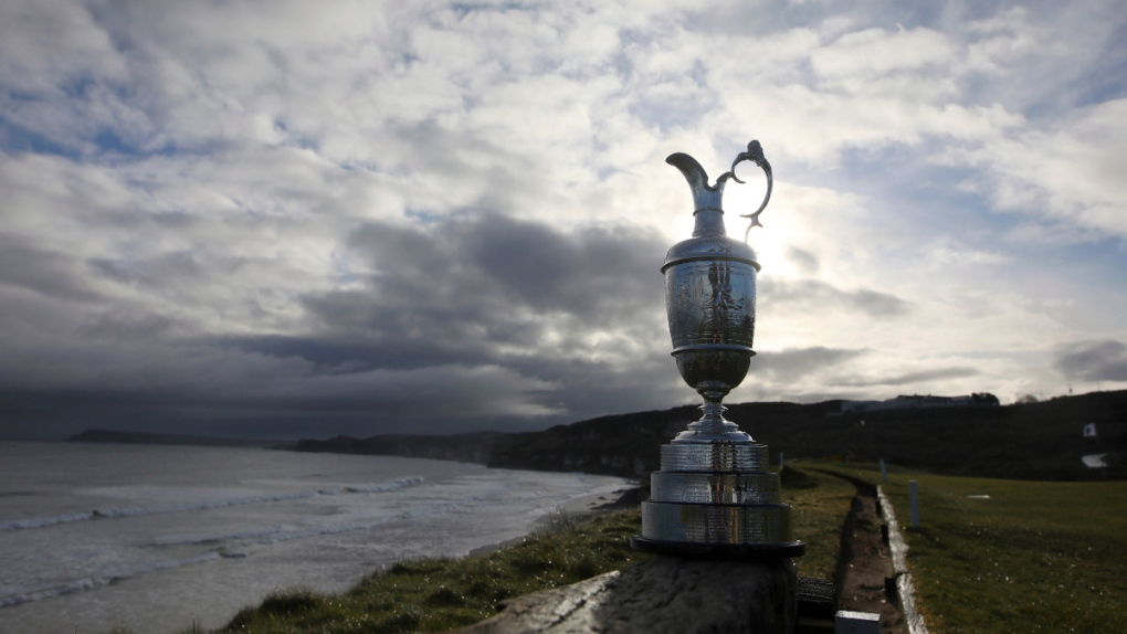 The Claret Jug in 2019