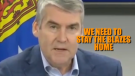 Premier Stephen McNeil's folksy way of telling residents to stay home has become an unofficial provincial rallying cry.
