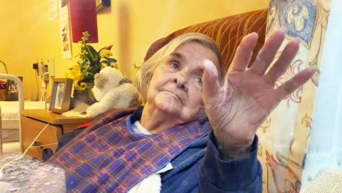 Margaret McCormick, 89, is seen in this photograph posted to social media. (Facebook/Sandy McCormick)