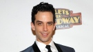 """In this April 10, 2014 file photo, actor Nick Cordero attends the after party for the opening night of """"Bullets Over Broadway"""" in New York. THE CANADIAN PRESS/Brad Barket/Invision/AP"""