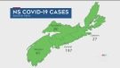 N.S. sees largest one-day spike