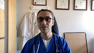 Dr. Abdu Sharkawy is an Infectious Diseases expert with the University Health Network at Toronto Western Hospital.   He says the public should leave the supply of surgical masks for medical use, but suggests making your own using items you might already have at home.
