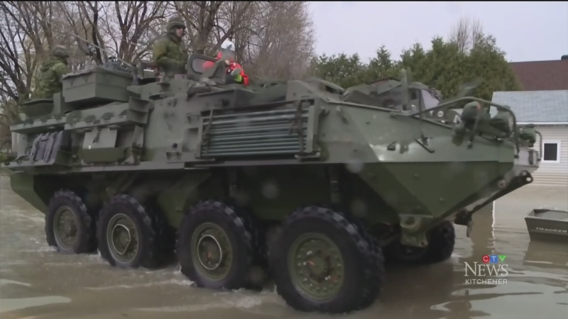 Local reservists preparing for emergencies