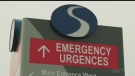 Sault Area Hospital Emergency Department. Apr. 6/20 (Jairus Patterson/CTV Northern Ontario)