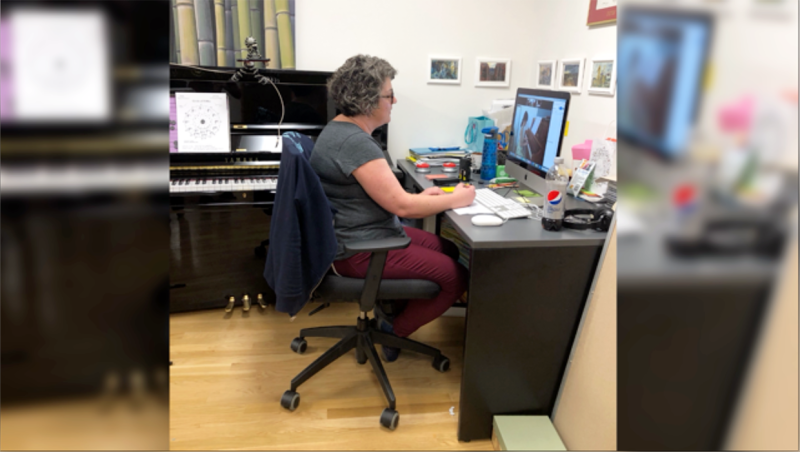More than 700 southern Alberta music students are getting lessons online thanks to a group of instructors from the University of Lethbridge Conservatory of Music