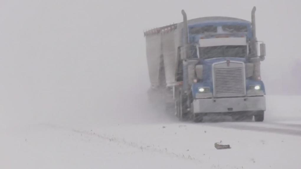 Saskatoon snowfall warning ends