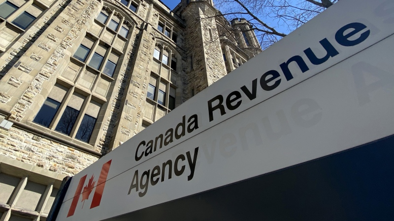 The Canada Revenue Agency building is seen in Ottawa, Monday April 6, 2020. THE CANADIAN PRESS/Adrian Wyld