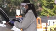 Burnaby sets up drive-thru COVID testing
