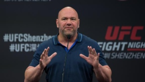 Dana White is shown here in this undated photograph. (CNN)