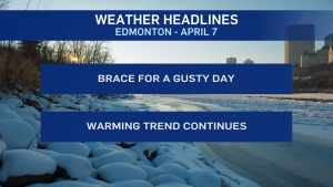 April 7 weather headlines