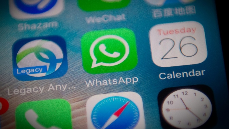 WhatsApp users will face new limits on forwarding of certain messages as part of an effort to curb the spread of misinformation about the pandemic. (AFP)