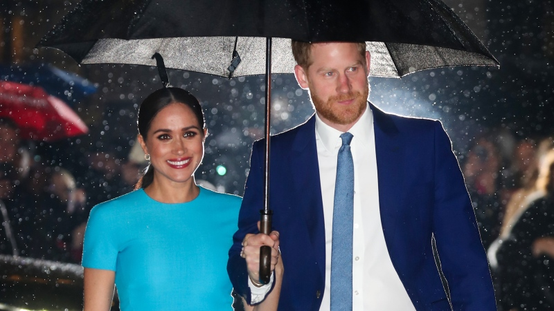 Meghan and Harry plan to call their charitable organization Archewell. (Chris Jackson/Getty Images/CNN)