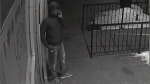 Surveillance image of a suspect in a Feb. 14, 2020 shooting in the 3500 block of 17th Ave S.E. (CPS)