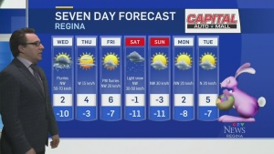 Windy conditions and scattered flurries