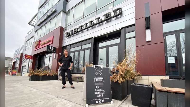 Distilled Beauty Bar and Social House owner Lisa Maric has never missed the rent for the past four years, until the COVID-19 pandemic. Now, she's struggling to survive.