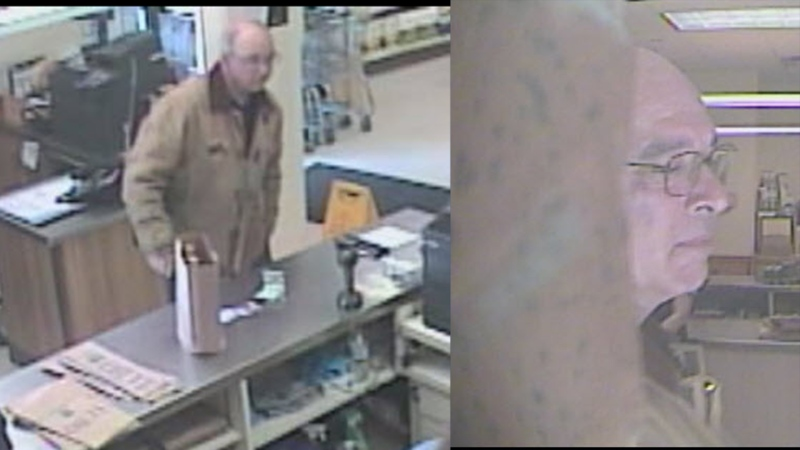 Suspect in a Stratford LCBO assault on March 24, 2020. (Supplied)