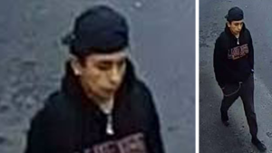 WRPS released this image of a man wanted for allegedly trying to spit on a Tim Hortons employee.