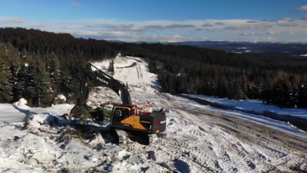Amid the COVID-19 pandemic, construction continues on the controversial billion-dollar Coastal Gaslink pipeline in northern British Columbia.
