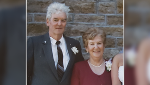 The family of Ross and Lois Richards says Ross Richards died at Almonte Country Haven after testing positive for COVID-19.