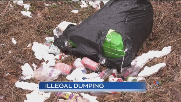 With landfills closed, more people are dumping their trash on country roads
