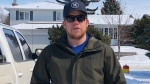 Jarrod Sigstad is one of a handful of drivers who has spent that past two weeks delivering groceries to older adults staying home to reduce the threat of COVID-19. (Francois Biber/CTV Saskatoon)