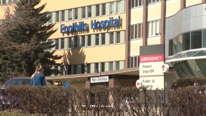 The Foothills Medical Centre. (CTV News Edmonton)