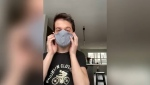 Alesia Fieldberg reports on how to make a mask that works and what not to do to your home made mask.