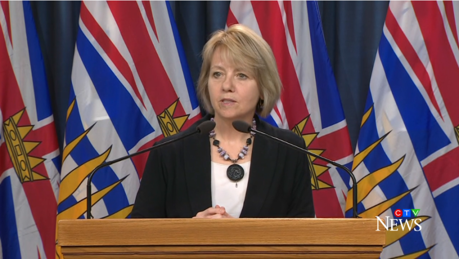 Dr. Bonnie Henry announces one more death from COVID-19 and 25 new test-positive cases on Tuesday, April 7, 2020.