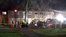 A 75-year-old woman died in a Dollard-des-Ormeaux house fire on April 7, 2020 / Cosmo Santamaria, CTV Montreal