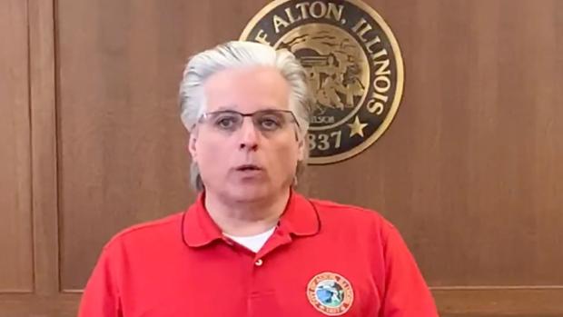 Brant Walker, the mayor of Alton, Illinois. (source: City of Alton, Illinois)