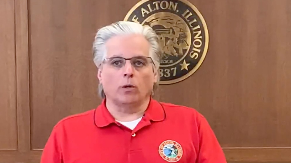 Alton, Illinois Mayor Brant Walker