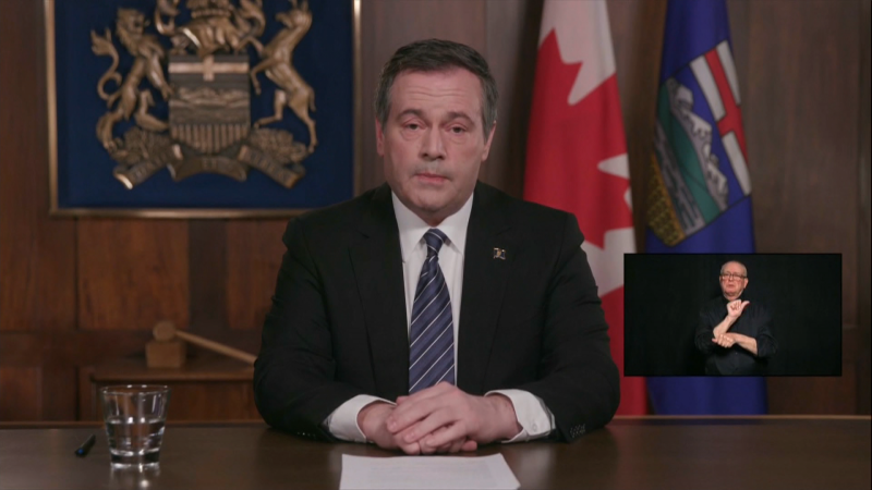 During his address to Albertans on April 7, 2020, Premier Kenney said the province's strategy includes the tracking of smartphones to ensure quarantines were being observed