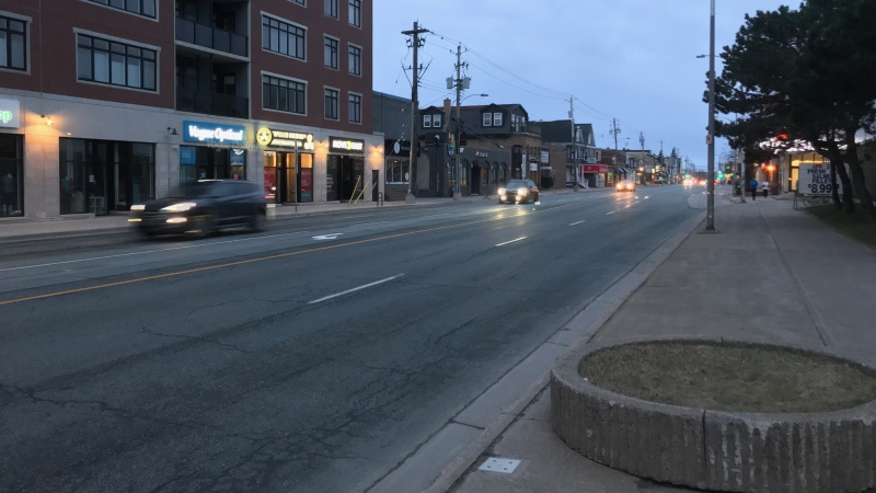 At 1:33 a.m., police observed a white Mercedes Sedan driving high speeds on Quinpool Road near Harvard Street in Halifax.