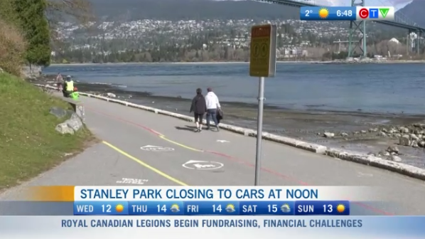 Stanley Park, closing