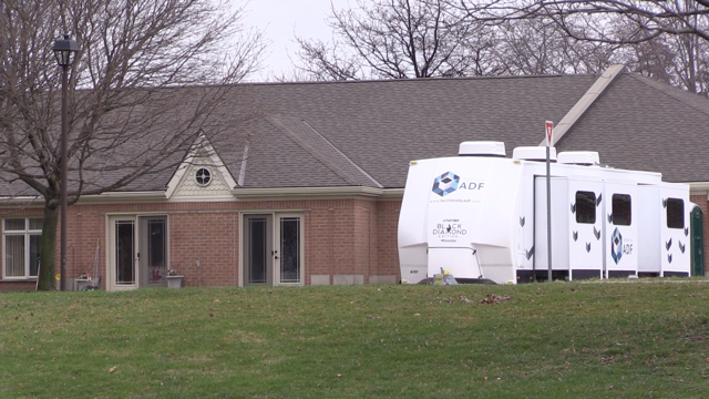 Trailer to house healthcare worker