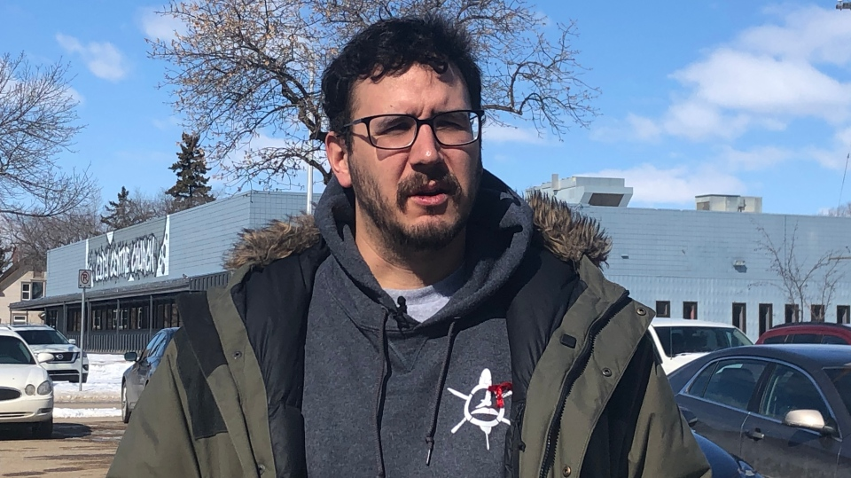 AIDS Saskatoon executive director Jason Mercredi is pictured in this file photo.