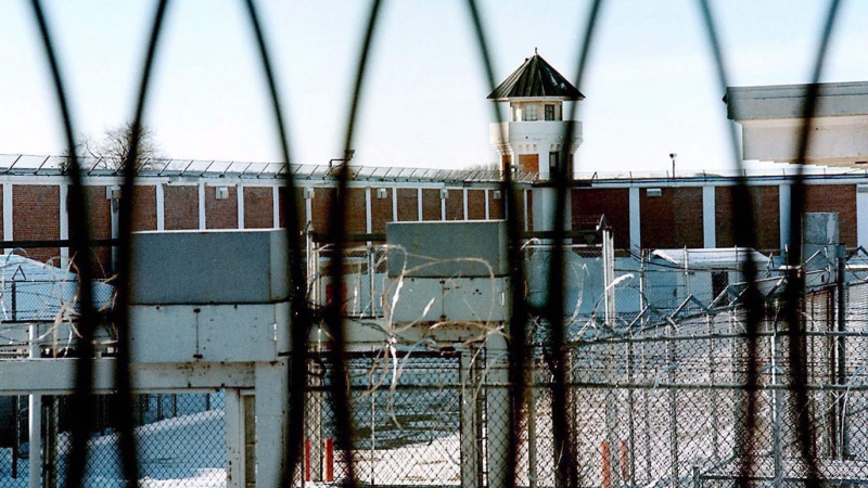 The men's maximum security unit of the Saskatchewan Penitentiary in Prince Albert, Sask., is shown in a Jan. 23, 2001 photo. (THE CANADIAN PRESS / Thomas Porter)
