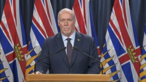 B.C. Premier John Horgan is expected to hold his first meeting with his new cabinet ahead of the scheduled address Wednesday. (CTV News)
