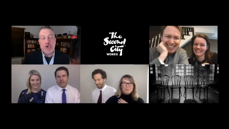 Second City's actors are hosting an 'Improv House Party' to entertain the masses stuck at home in self-isolation. (Submitted)